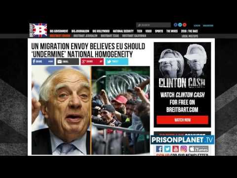 BREAKING :  UN Admits Migrant Crisis Plan To Overthrow West