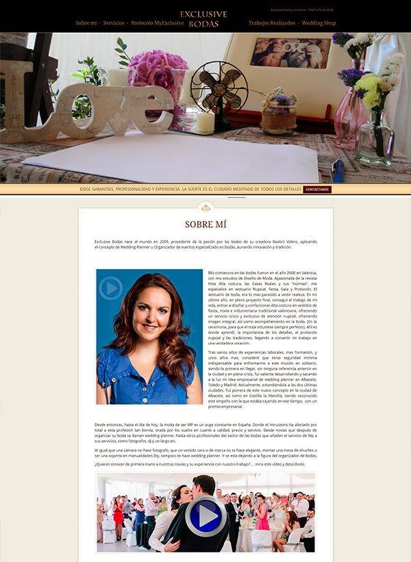 Hernandezyblasco. Servicios de diseño de páginas web bajo plataforma wordpress. Diseño de imagen de empresa: Tarjetas de visita, logotipos etc.