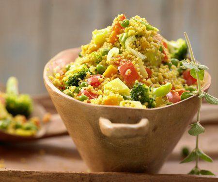 Rezept: Couscous-Gemüse-Pfanne