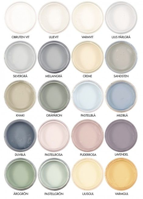 Byggfabrikens färgskala
