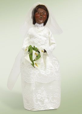 Byers Choice African American Bride