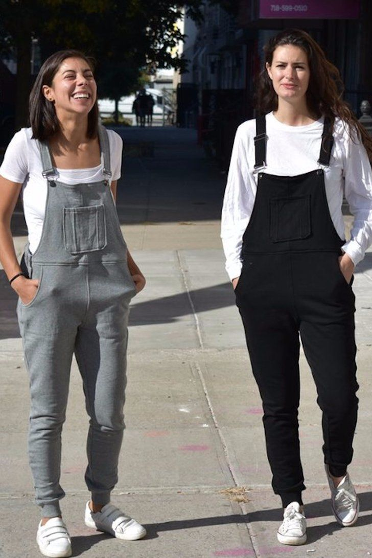 """Sweatpants Plus Overalls?! """"Swoveralls"""" Are the Comfy Outfit You Never Knew You Needed"""
