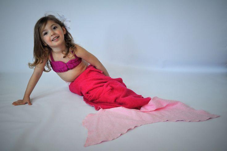 Mermaid tail towel // pink mermaid tail towel // Tail Towel // Mermaid towel // mermaid tail blanket by MartinelliSweets on Etsy https://www.etsy.com/listing/517757589/mermaid-tail-towel-pink-mermaid-tail