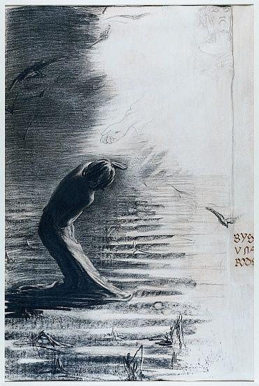 Bys posvětil v nás svoji podstatu by František Bílek. 1900.