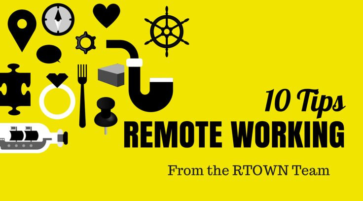The New Office Trend...No Office! Get our top 10 tips to be an extremely successful remote worker