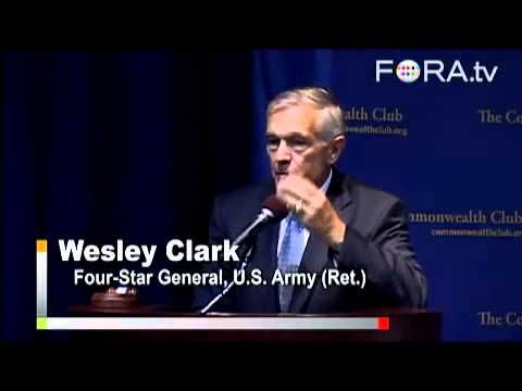 General Wesley Clark tells of how Middle East destabilization was planned as far back as 1991