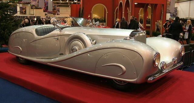 1935 Mercedes Benz 500K Erdmann & Rossi built to order for King Ghazi of Iraq.