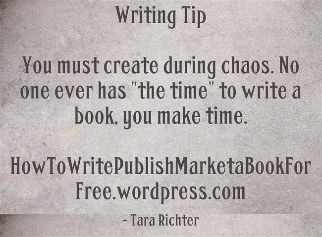 Make Time to Write: 10 Tips for Daily Writing