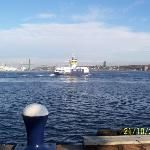 HALIFAX HARBOUR FERRY  This has to be the cheapest ocean cruise around.  At less than two dollars the ferry takes you form Nova Scotia's capital city of Halifax to sister city of Dartmouth. Kids love it!    http://www.MervEdinger.com