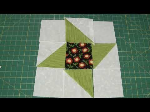 ▶ Make a Friendship Star Quilt Block Using Turnovers - Turnover Week - YouTube