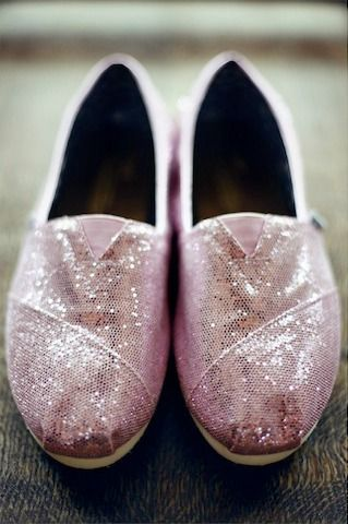 Celebrate your big day this summer with a sparkly pair of TOMS.