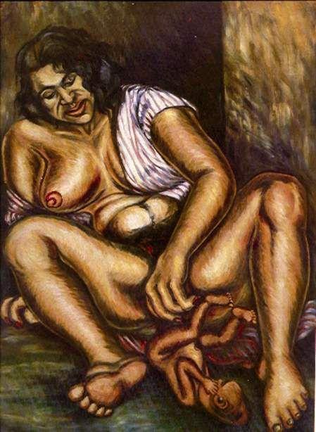 Madona del Silencio - Débora Arango