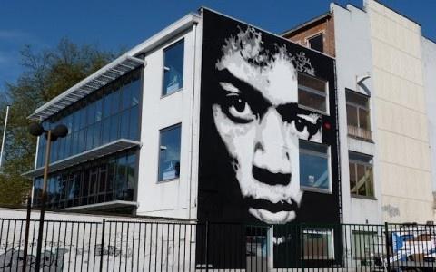 Jef Aérosol New Mural @ La Louviere, Belgium