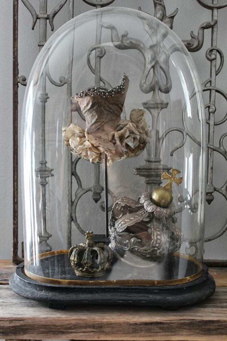 1703 best CLOCHE QUARTERS images on Pinterest | Glass domes, Bell ...