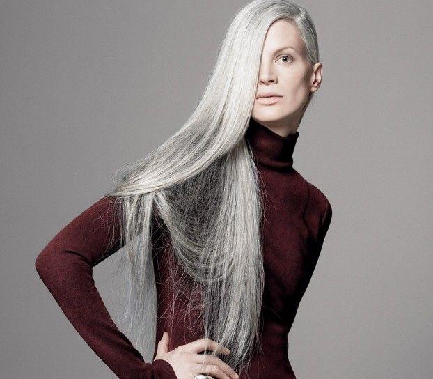 capelli grigi donne - Cerca con Google
