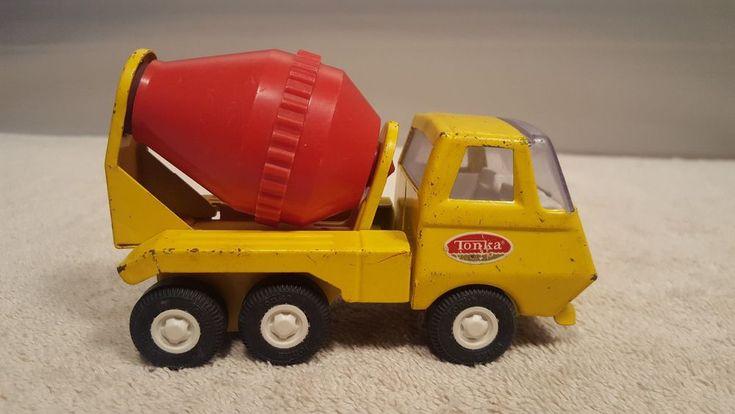 Vintage TONKA Mini Cement Mixer Truck #Tonka