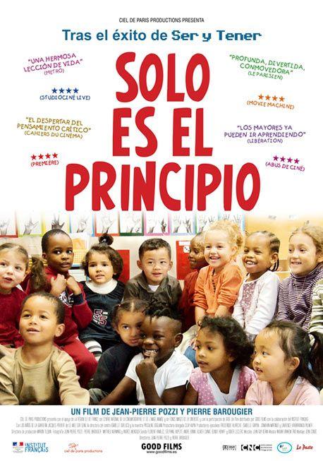 Sólo es el principio, un film de Jean-Pierre y Pierre Barougier. Una clase de filosofía en la guardería.