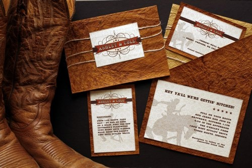 Western Wedding Invites: 161 Best Images About Cowboy Wedding Invitations On