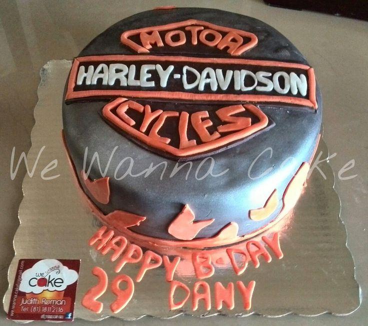 Harley dadidson cake