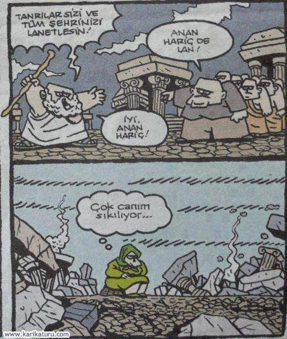 Komik Karikatürler: Anan Hariç De Karikatürü