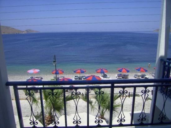 Hotel Eleni Beach, Tilos Island, Greece