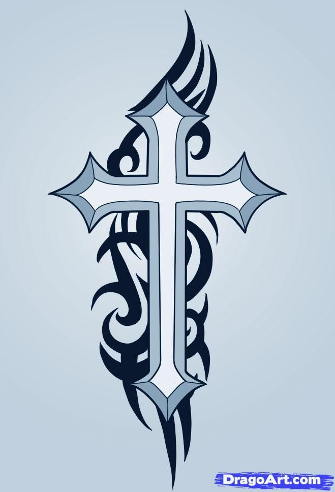 25 best ideas about simple cross tattoo on pinterest for How to make a tattoo painless