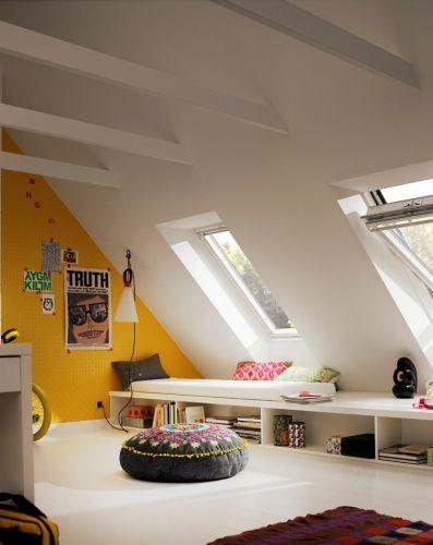 9 best Wohnzimmer images on Pinterest Attic, Attic spaces and Bedrooms - wohnideen schrgen wnden