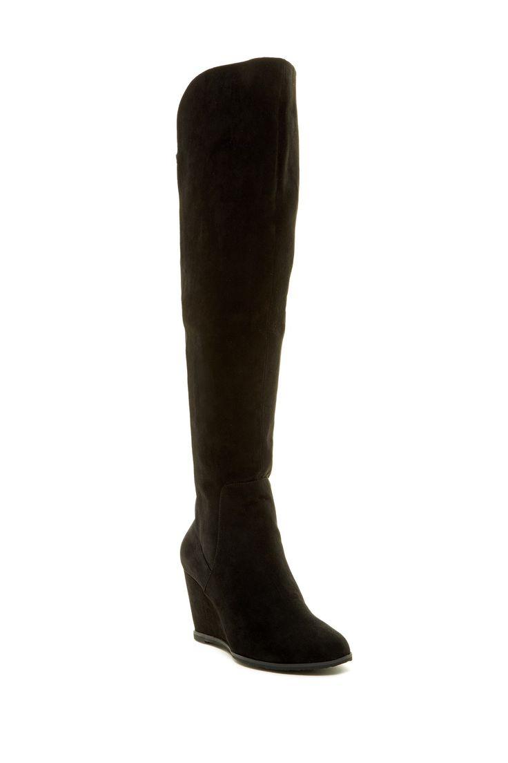 Sabrena Knee-High Wedge Boot by 14th