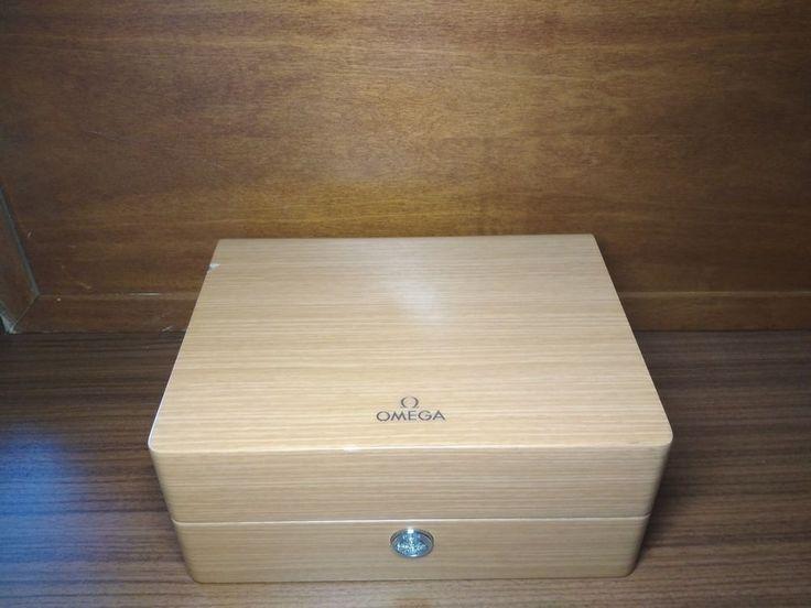 Omega Wooden Empty Box from Wrist Watch (XXL) #OMEGA