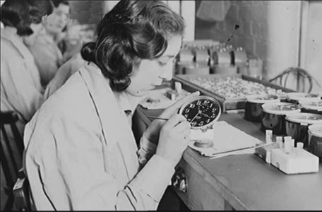 The Radium Girls were female factory workers who contracted radiation poisoning from painting watch dials with glow-in-the-dark paint at the United States Radium factory in Orange, New Jersey around 1917. The women, who had been told the paint was harmless, ingested deadly amounts of radium by licking their paintbrushes to give them a fine point; some also painted their fingernails and teeth with the glowing substance  . . .