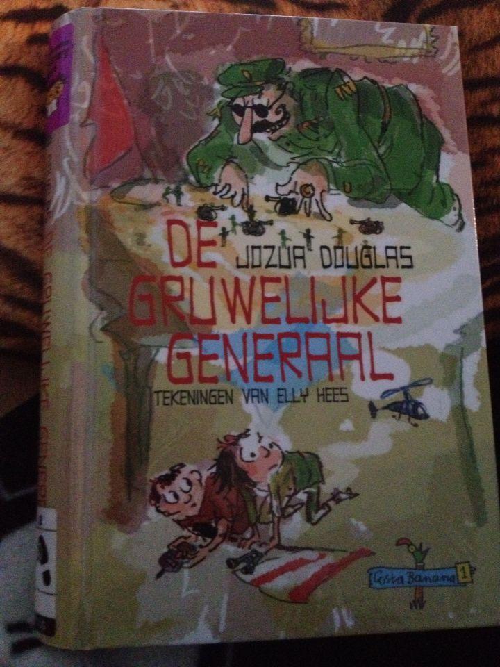 39/52 De gruwelijke generaal / Jozua Douglas. Grappig boek met voor volwassenen herkenbare bijzondere details. (De schroef van prinses Magarita bijvoorbeeld)