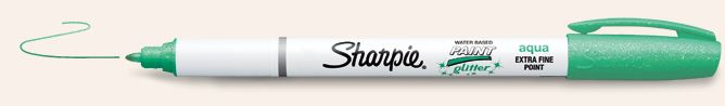 Sharpie Paint Pens | Glitter Paint Markers  Nothing better than Sharpies.