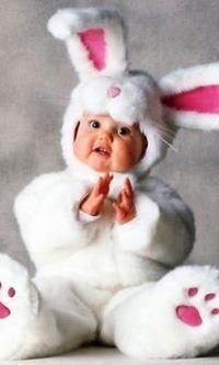 Костюм зайчика для маленького мальчика