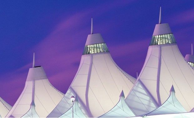 Denver International Airport. by  ellen jaskol  photography