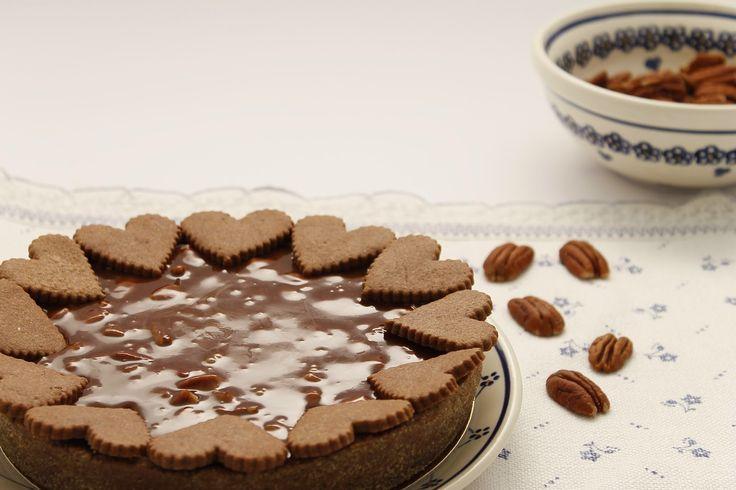 Coccole di dolcezza: Crostata alle noci pecan caramello e cioccolato