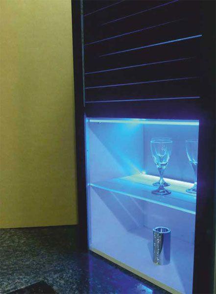 Glass Rolling Shutter   Model:K2.12.201   600mm   600x1320mm   Black  K2.12.202   900mm   900x1320mm   Black Price:Rs29799