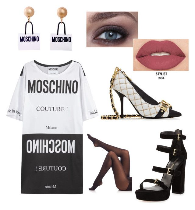 """""""Moschino by Katy Perry ♡"""" by ania-kondrat on Polyvore featuring Stuart Weitzman, Moschino, Smashbox and SPANX"""