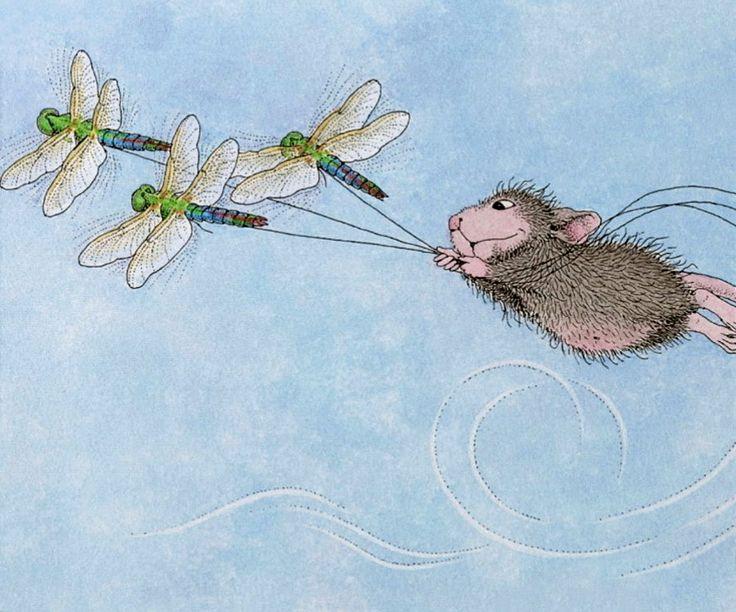 картинки веселые мышки зимой этом