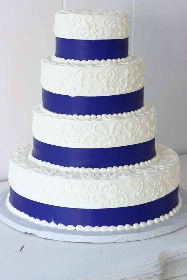 wedding cakes northern new jersey%0A C    Wedding Cake with ribbon and filigree details