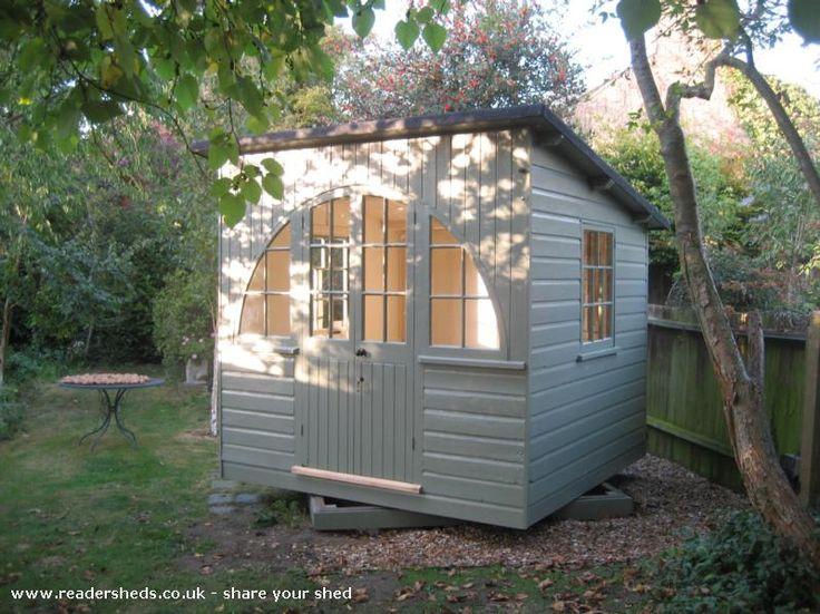 drinking hut cabinsummerhouse from back garden shedoftheyear unclewilco