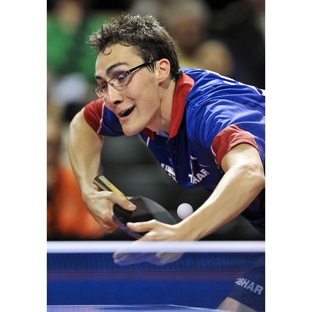 Captured at just the right moment at the World Table Tennis Championship in Rotterdam. More of these in the gallery. :)