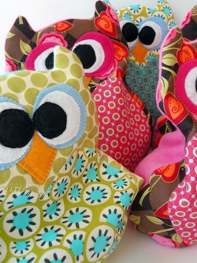 Love Bird {Owl} Rice Bags