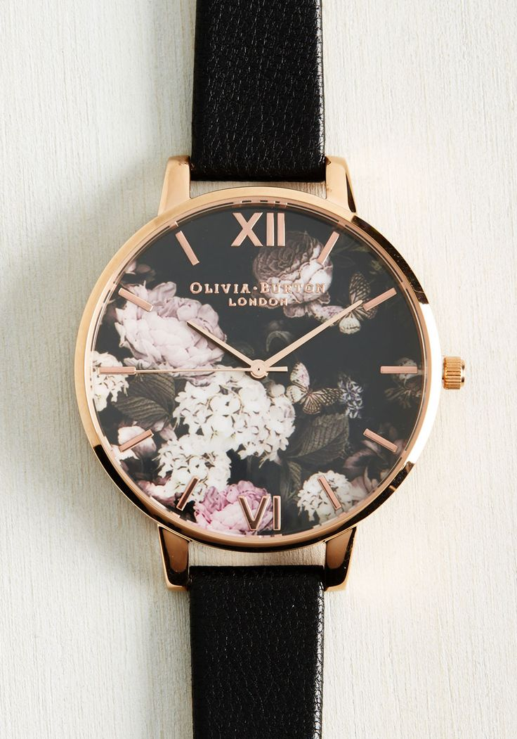 Watches - Half Past Bloom Watch in Rose Gold