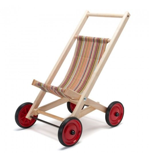 wooden doll stroller make it in blue for Calebs baby
