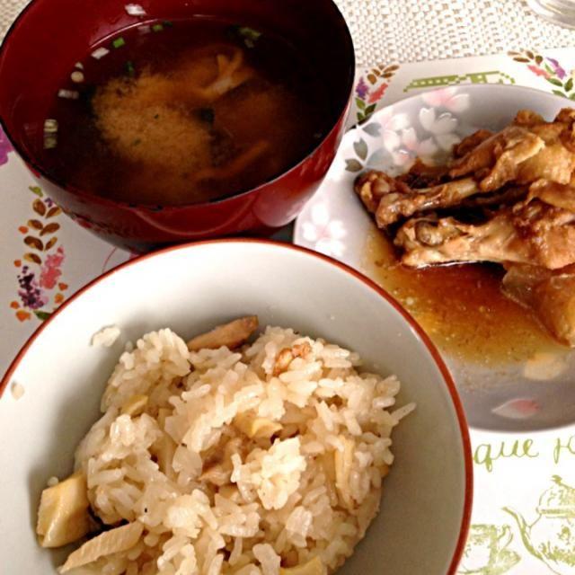 ランニング後のタケノコご飯 - 6件のもぐもぐ - タケノコご飯 by yachinko