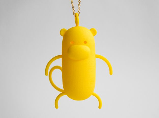 Monkey Pendant by rustylab