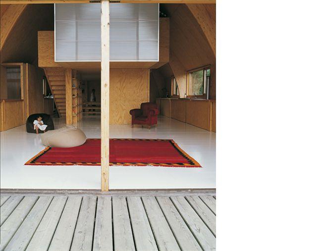 Maison dans un Champs / Jean Barache – nowoczesna STODOŁA   wnętrza & DESIGN   projekty DOMÓW   dom STODOŁA