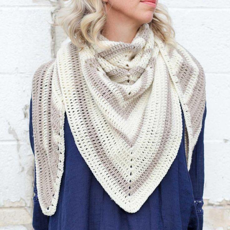 Mejores 51 imágenes de Crochet Scarf & Cowl Patterns en Pinterest ...