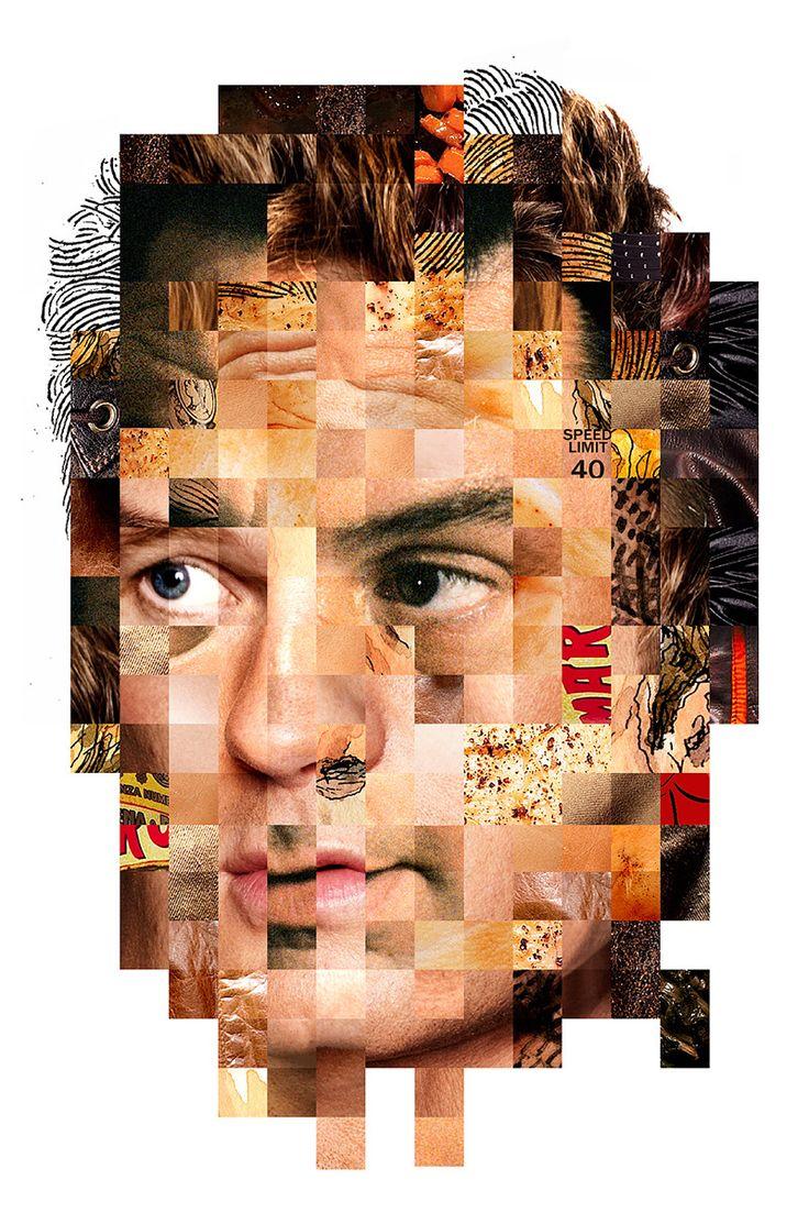 Face Collages - 1 - Erin Jang | Portfolio
