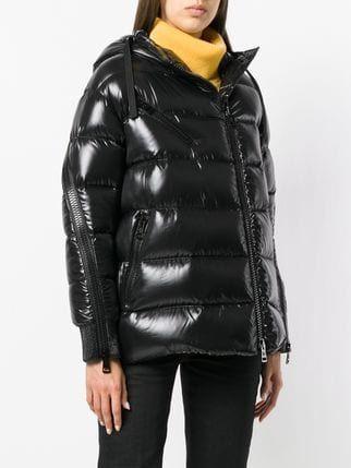 52457d141 Moncler zipped sleeves puffer jacket
